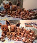 My Huge Eevee Plush Collection