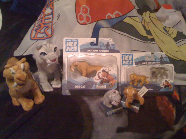 Shira and Diego Ice Age Plush Collection by Eevee-Kins on ...  Shira and Diego...