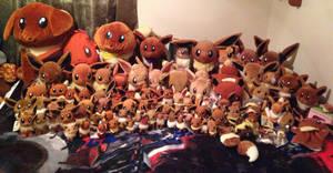 Eevee Pokemon Plush Collection by Eevee-Kins