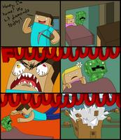 Minecraft Comic by LisaAndMonster