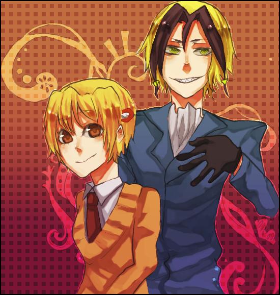 Neuro and Yako by skull-r0ckerx3