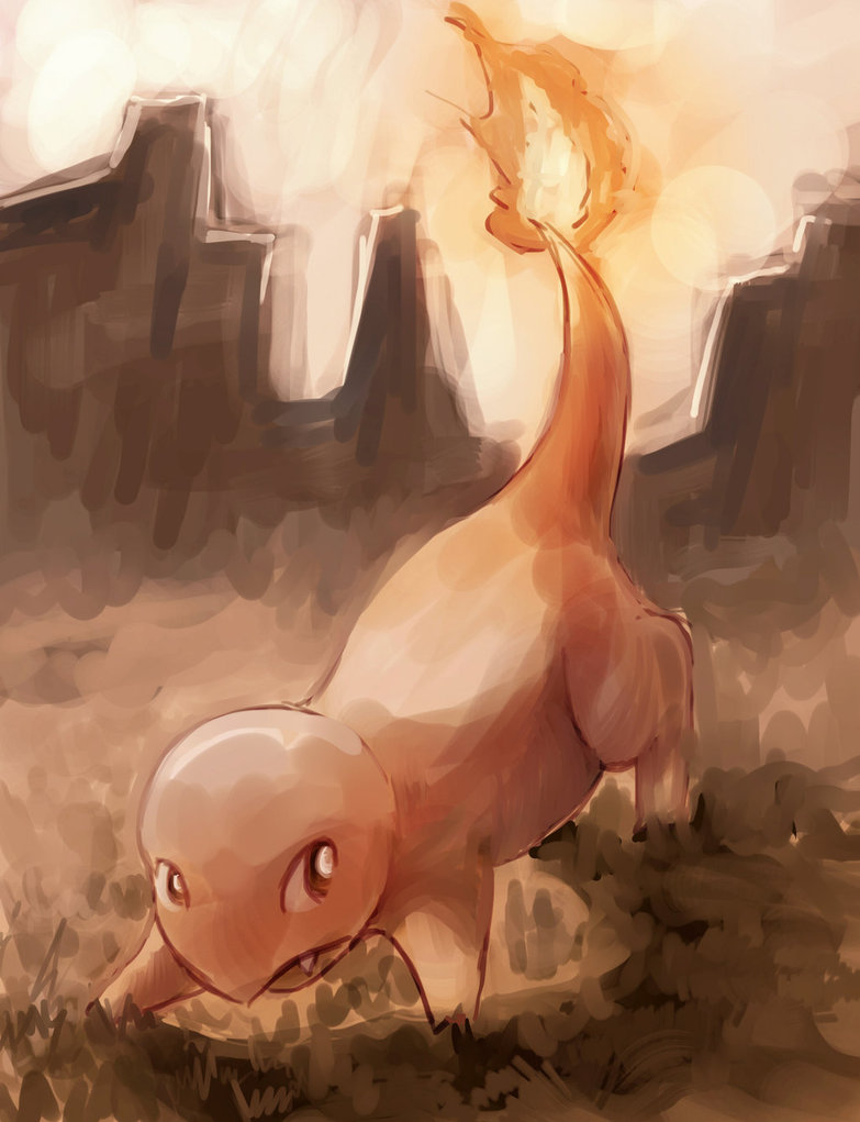 Charmander, Ready For Battle! by ArtExxo