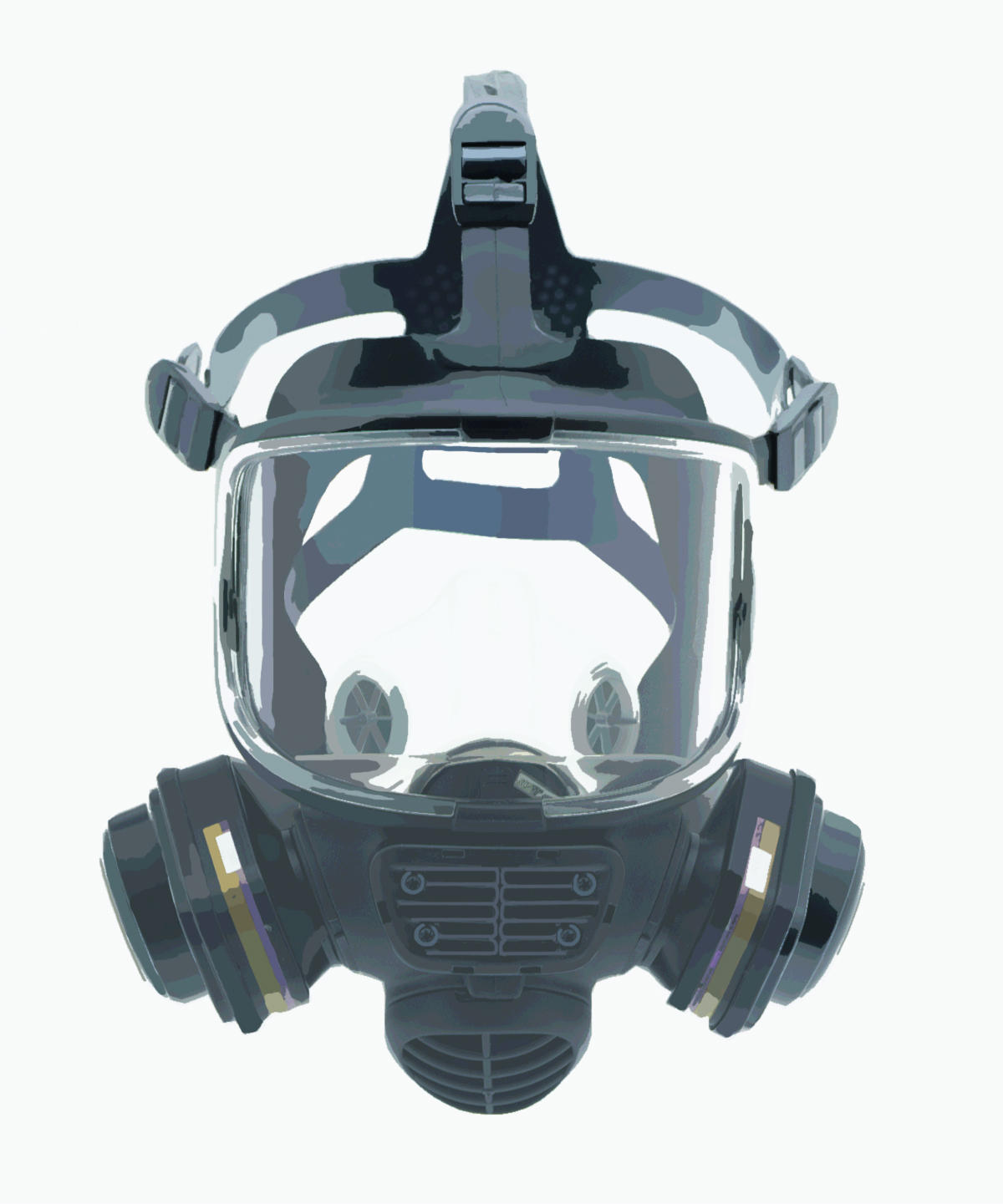 Gas Mask Vector by RankNo1