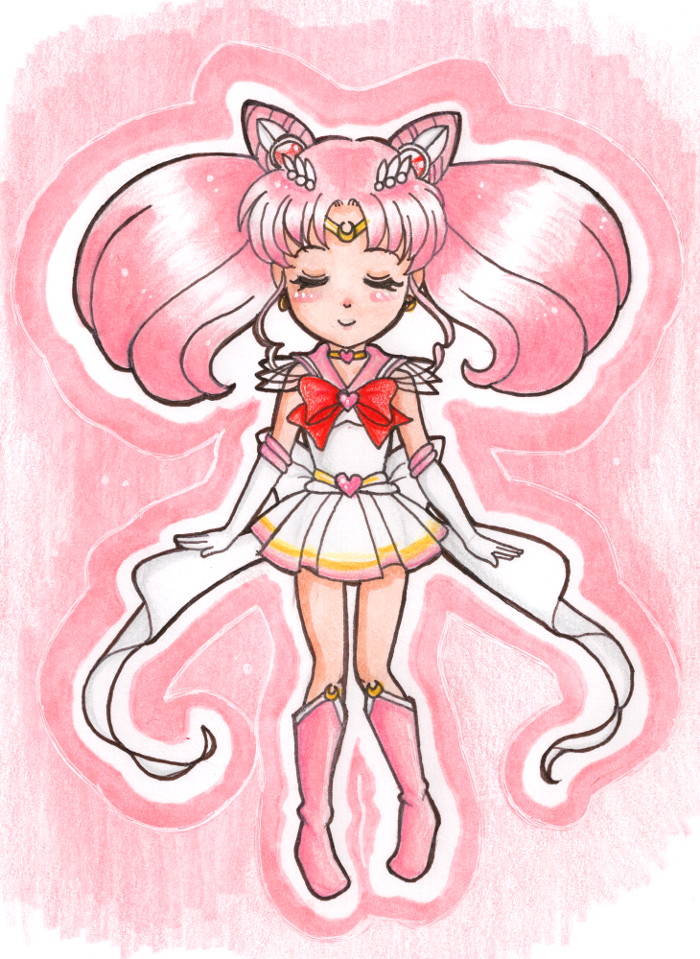 Chibi-Usa by Harbor-Wind