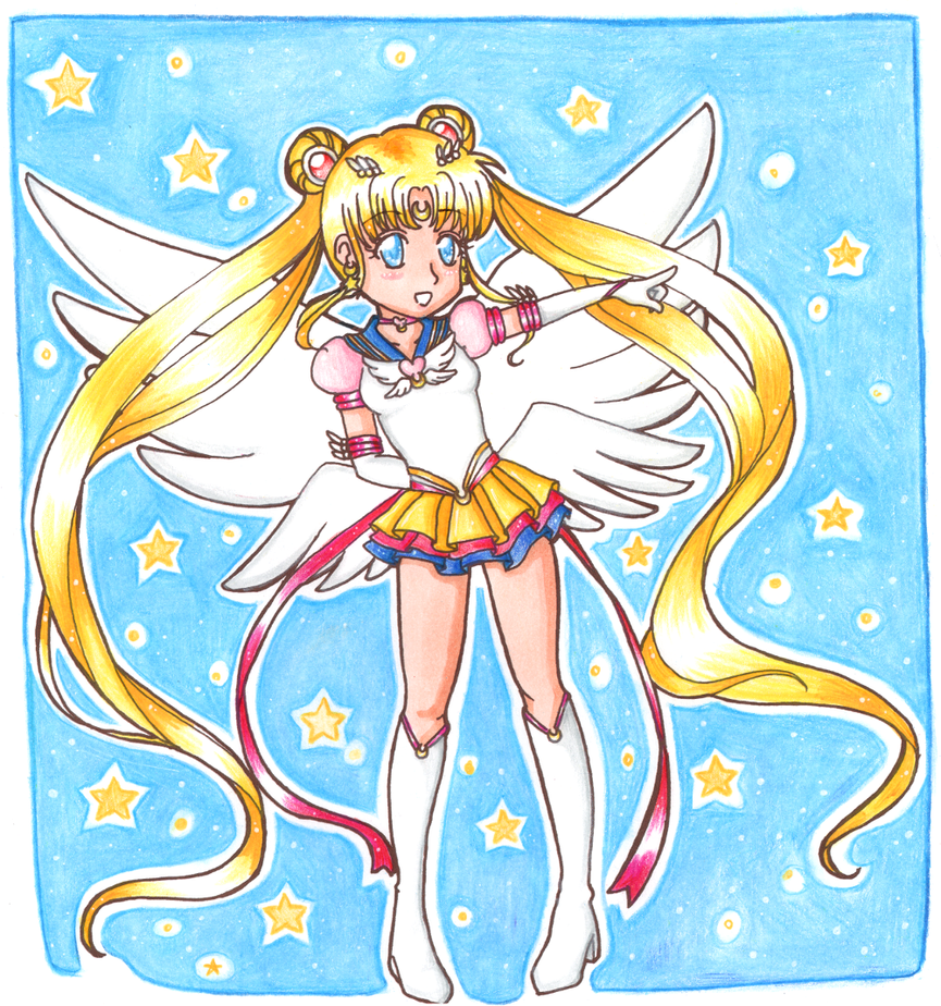 Eternal Sailor Moon by Harbor-Wind