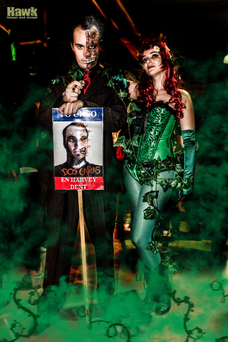 Poison Ivy vote for Harvey Dent by Mirian