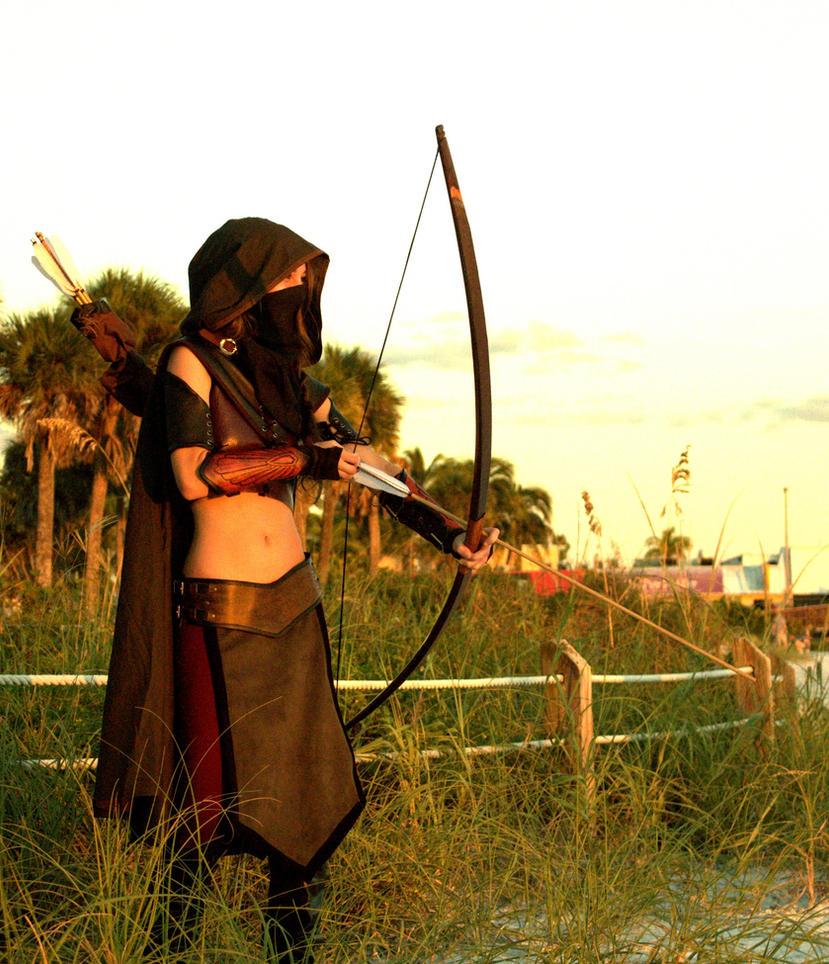 Feminine Ithiliean Ranger Of Gondor By MickeyFlint On