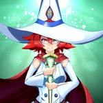 Shiny Chariot - Little Witch Academia fanart