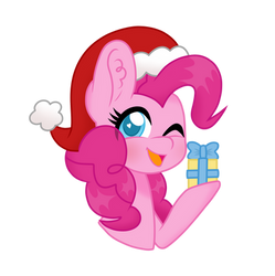 Merry christmas from pinkie pie by superAnina