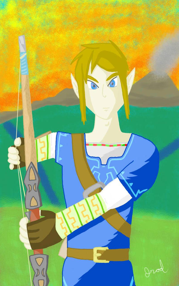 BotW Link - Final by jrodicon