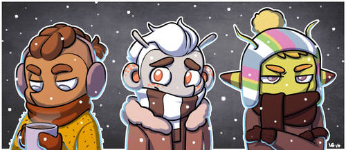 February and still snowing?! by AtomicRay