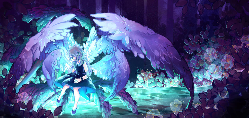 Angel by nyacchii