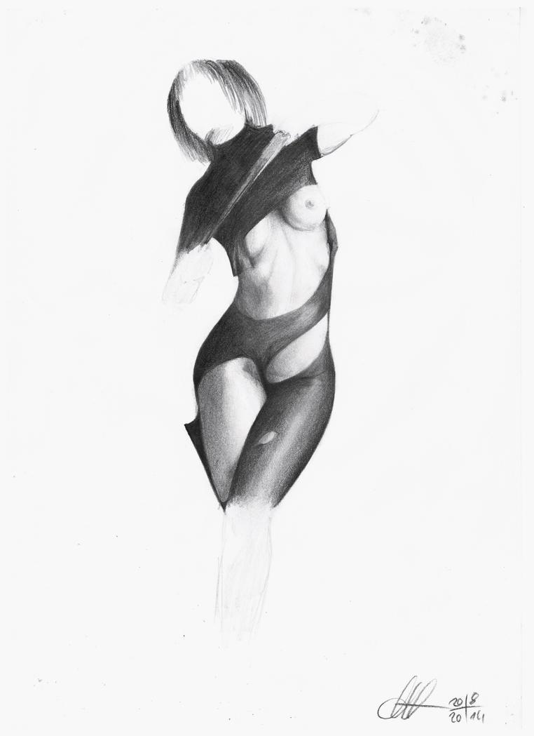 Nude study 3 by DivianaAjatar