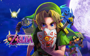 The Legend of Zelda Majora's Mask by HarryBana
