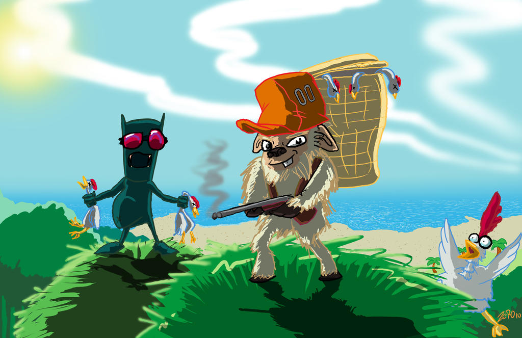 Los Hunters by ZEROMaximusAurelius