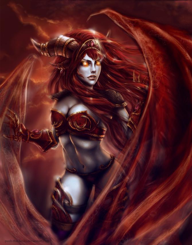 Alexstrasza - Queen of Life, The Dragonqueen, Queen of the Dragons ...