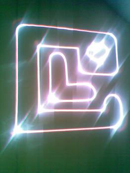 LC laser logo