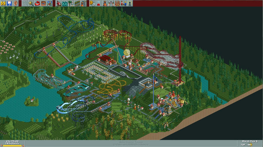 Awesome RCT Pic 22 Evergreen Gardens By NerdyHippy ...
