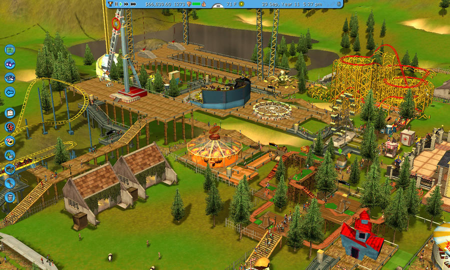 RCT3: Tiger Forest by NerdyHippy on DeviantArt