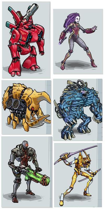 Mutants Genetic Gladiators Cyber By Nerdyhippy On