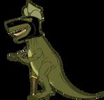 Pirate Ninja Cowboy Robot Dino by senor-sausage