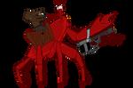 Crab Monster by senor-sausage