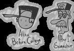 Allan in College