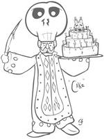 Happy Cake Man by senor-sausage