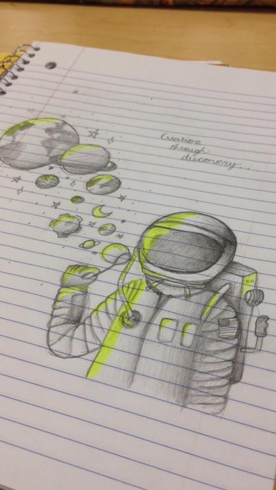 notebook doodle by teenytinylynn