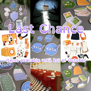 Last Chance - Prints and Stickers