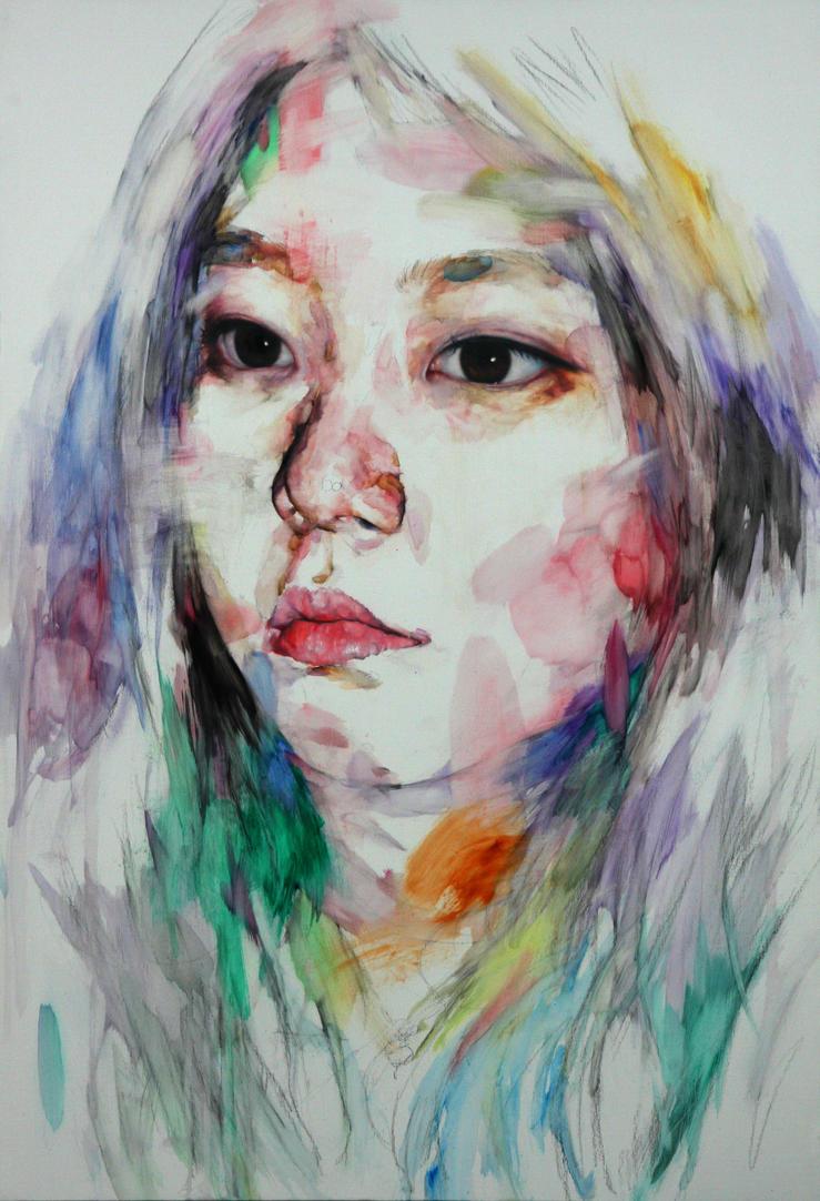 [19] Untitled Oil On Canvas  116.5 X 80 2013 by ShinKwangHo