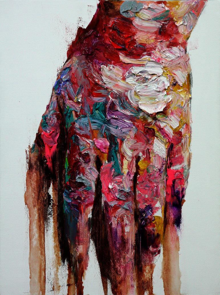 [82] Untitled Oil On Canvas  60 X 45 Cm 2013 by ShinKwangHo