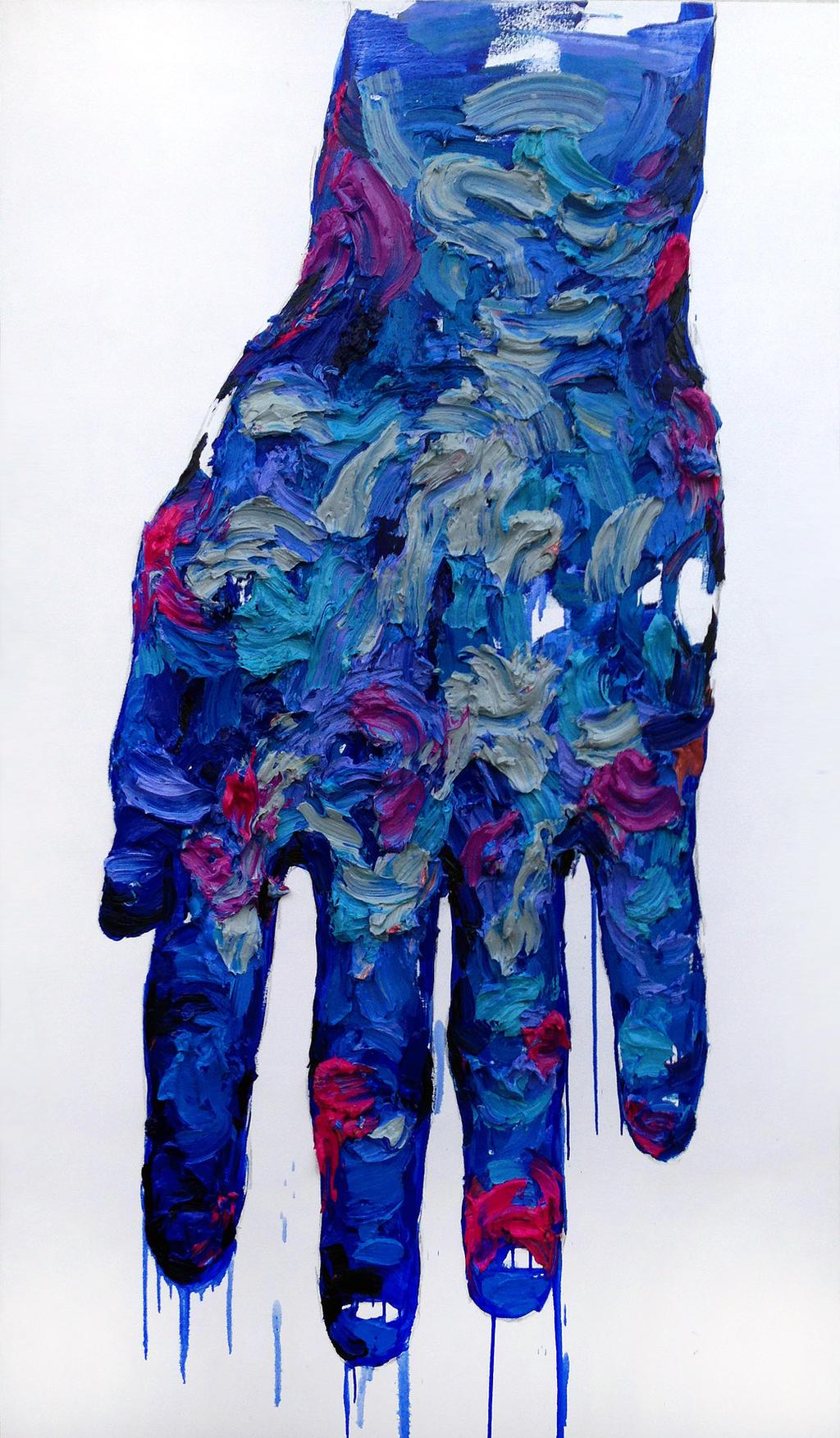 [197] Untitled Oil On Canvas 193.9 X 112.1 Cm  by ShinKwangHo