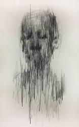 (D54) untitled 23.8 x 15.4 cm pencil on paper