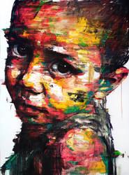 [235] Untitled Oil On Canvas 259.1 X 193.9 Cm  by ShinKwangHo
