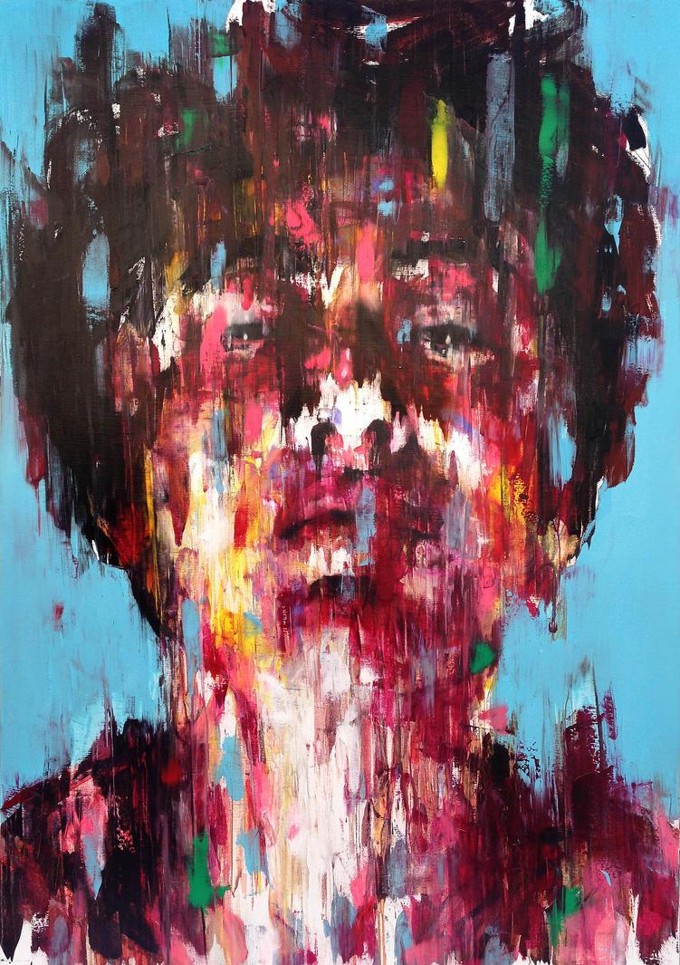 [14P30] untitled oil on canvas 162.2 x 112.1 c by ShinKwangHo