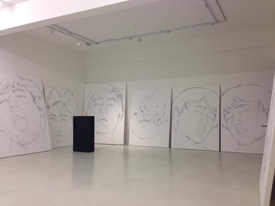 At YAVUZ FINE ART Gallery in Singapore. by ShinKwangHo