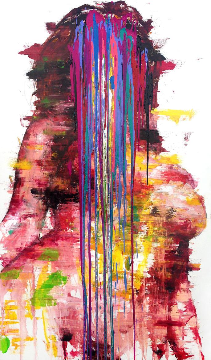 [14p72] untitled oil on canvas 193.9 x 130 cm 2014 by ShinKwangHo