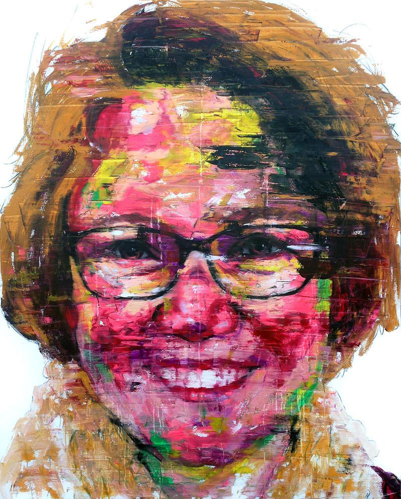 [14P73] untitled oil on canvas 162.2 x 130.3 cm 20 by ShinKwangHo