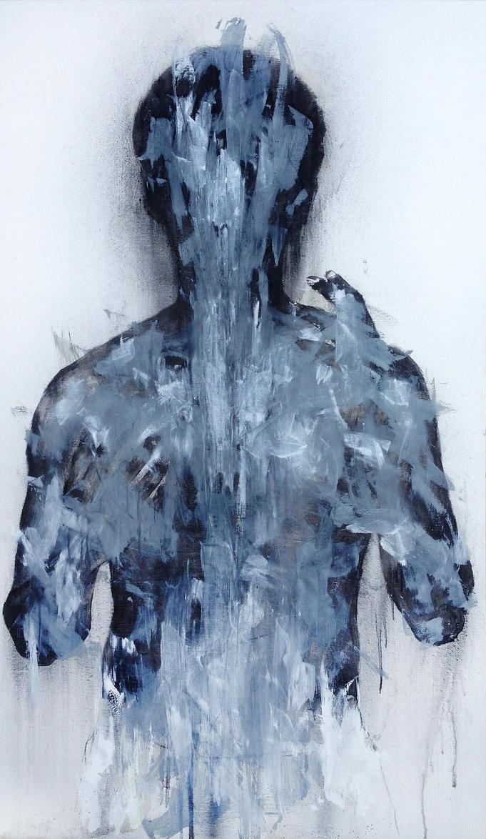 [15p01] Untitled Oil On Canvas 193.9 X 112 Cm 2015 by ShinKwangHo