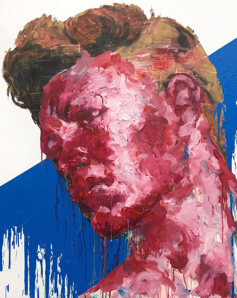 [15p39]  Untitled Oil On Canvas 162.2 X 130.3 Cm 2 by ShinKwangHo