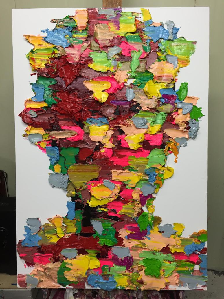 [15p49]  Untitled Oil On Canvas 116.8 X 80.3 Cm 20 by ShinKwangHo
