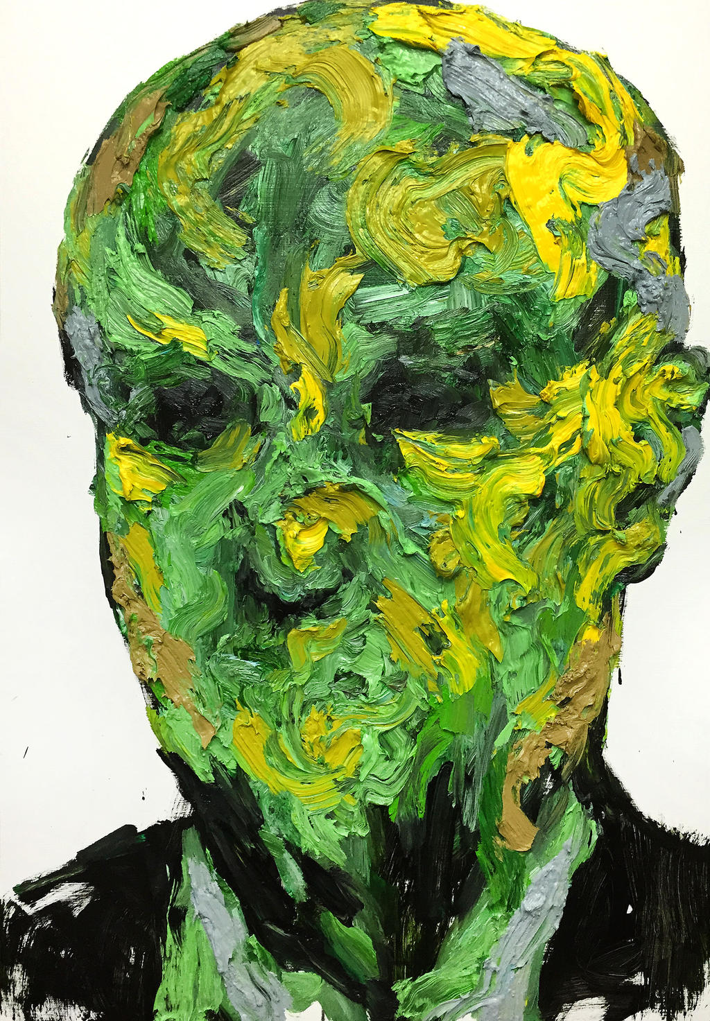 [15p50]  Untitled Oil On Canvas 116.8 X 80.3 Cm 20 by ShinKwangHo