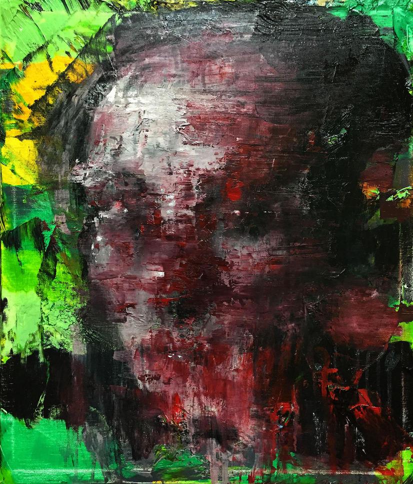 [15p51] Untitled Oil On Canvas 53.0 X 45.5 Cm 2015 by ShinKwangHo