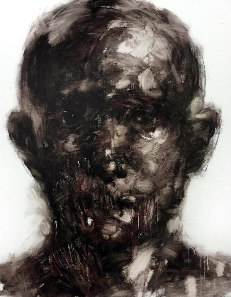 [15p52]  Untitled Oil On Canvas 116.8 X 91 Cm 2015 by ShinKwangHo