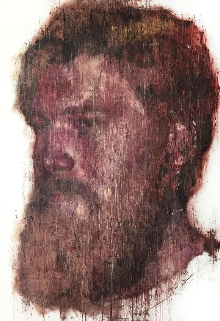 [15p53]  Untitled Oil On Canvas 116.8 X 80.3 Cm 20 by ShinKwangHo