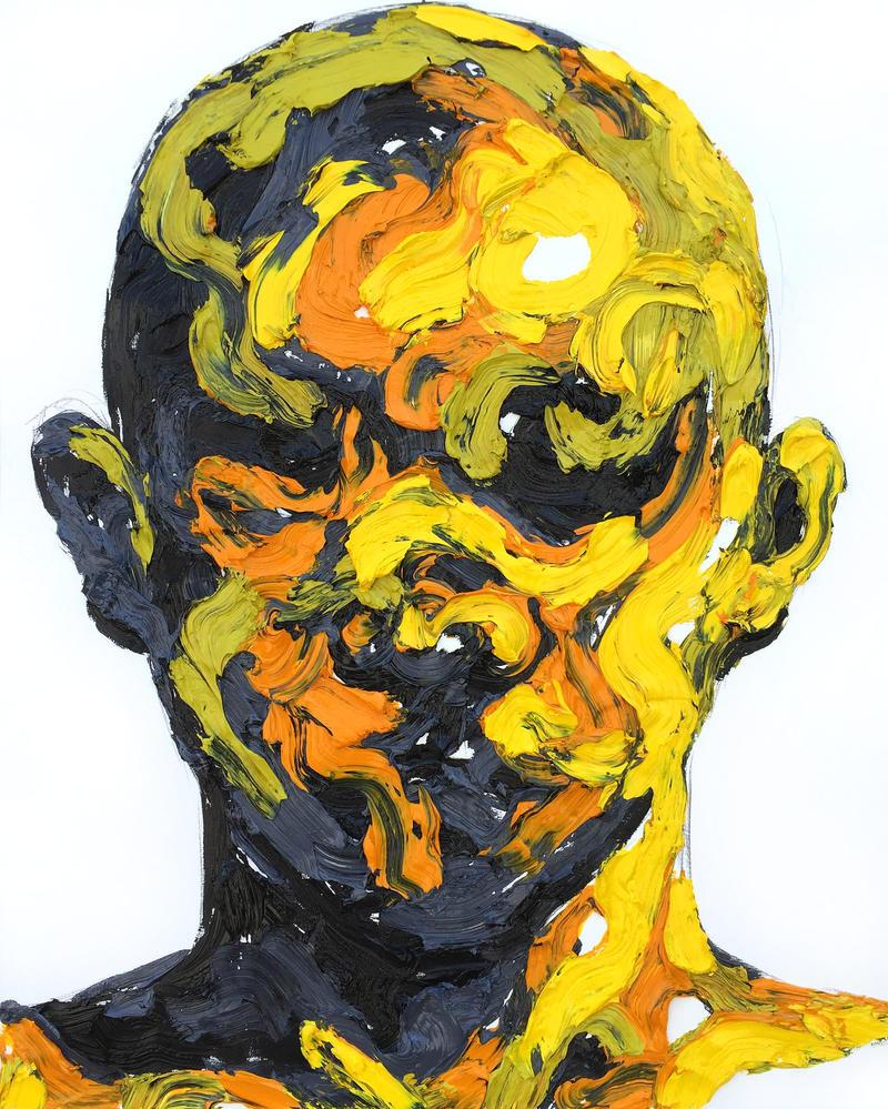 [15p59]  Untitled Oil On Canvas 162.2 X 130.3 Cm 2 by ShinKwangHo