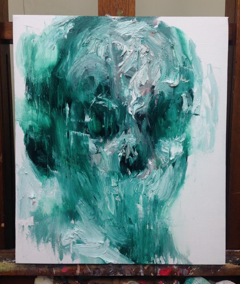 [15p62] Untitled Oil On Canvas 53.0 X 45.5 Cm 2015 by ShinKwangHo