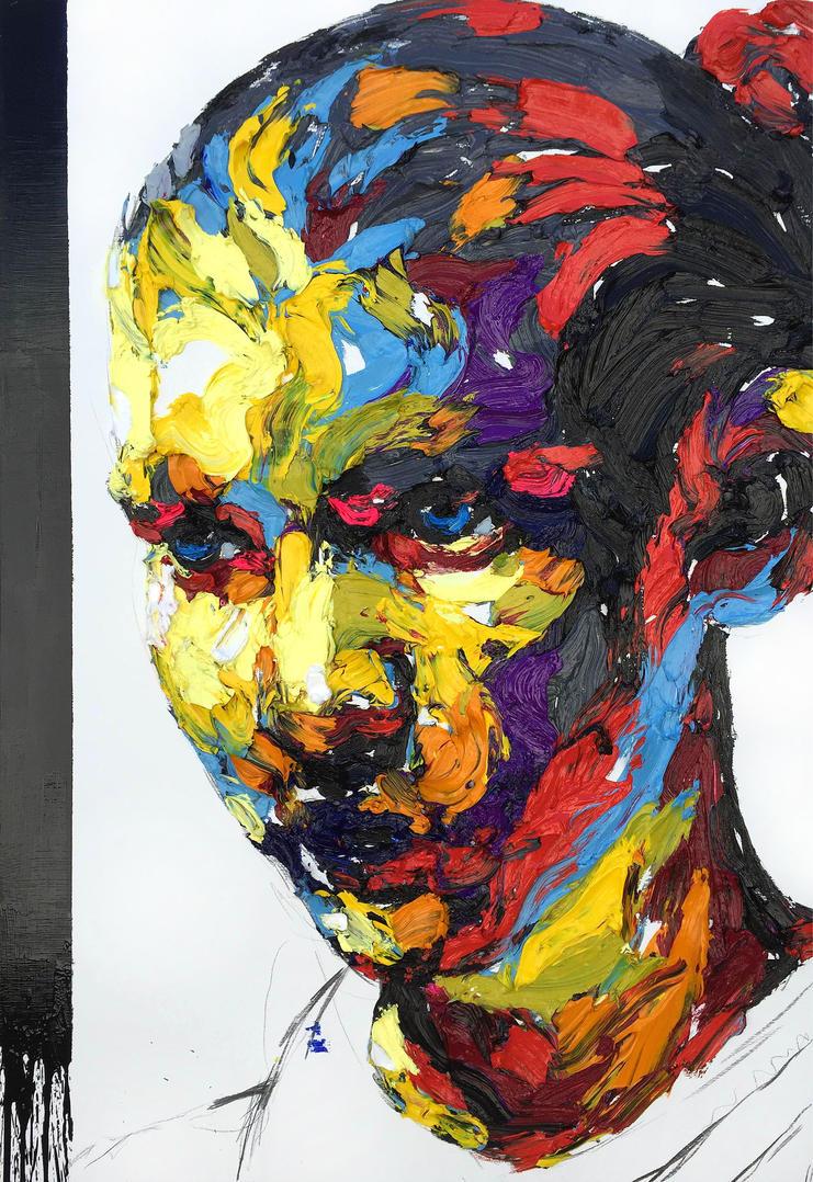 [15p64] Untitled Oil On Canvas 162.2 X 112 Cm 2015 by ShinKwangHo