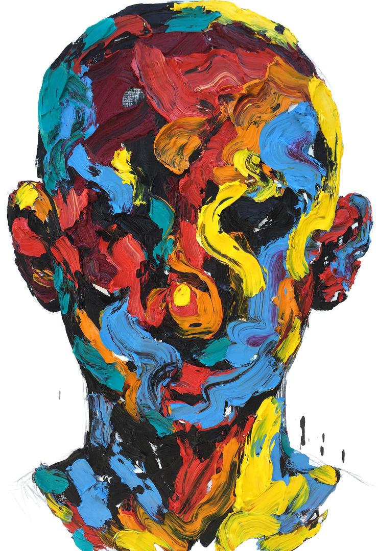 [15p65] Untitled Oil On Canvas 162.2 X 112 Cm 2015 by ShinKwangHo